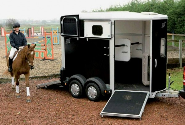 Ifor Williams HB 506 Frontausstieg anthrazit