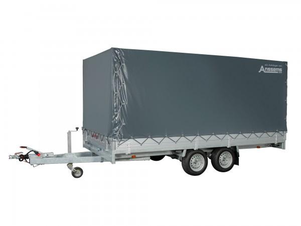 Anssems ASX 3000.405x178 mit Auffahrrampen und Hochplane 180cm